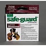 Safeguard Dog Wormer, 4 Grams, My Pet Supplies