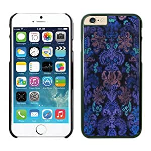 iPhone Cases,6 iphone case colors,cool iphone cases, cute iphone cases, Colorful Damask Iphone 6 (4.7-inch) Cases Black Cover