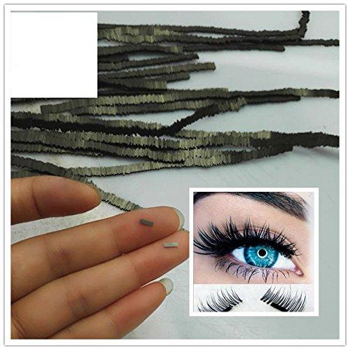 LINGERY NEW 2Pcs Reusable Magnet Sheet For 3D Magnetic False Eyelashes Extension Handmade (Magnet Trio)