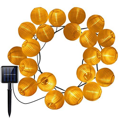 Lantern Solar String Lights in US - 4