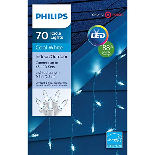 Led Icicle Lights Philips in US - 8