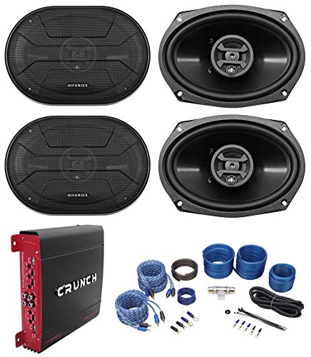 Hifonics ZS693 Speakers 4 Channel Amplifier