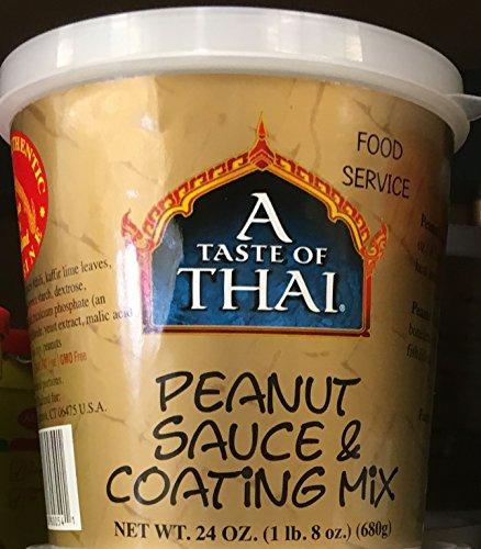 A Taste of Thai Peanut Sauce Mix, 24-Ounce Package by Thai