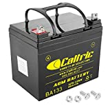 Caltric Agm Battery Compatible with Yamaha Rhino 700 Yxr700 4X4 2008 2009 2010 2011 2012 2013