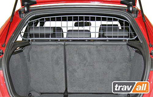 Travall Guard for Audi A3 Sportback (2004-2012) Also for Audi S3 Sportback (2008-2012) TDG1058 - Rattle-Free Steel Pet Barrier
