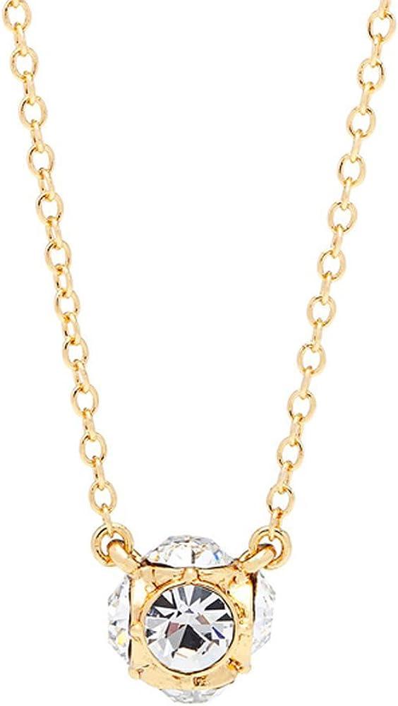 Kate Spade Lady Marmalade Gold Plated Mini Pendant Necklace