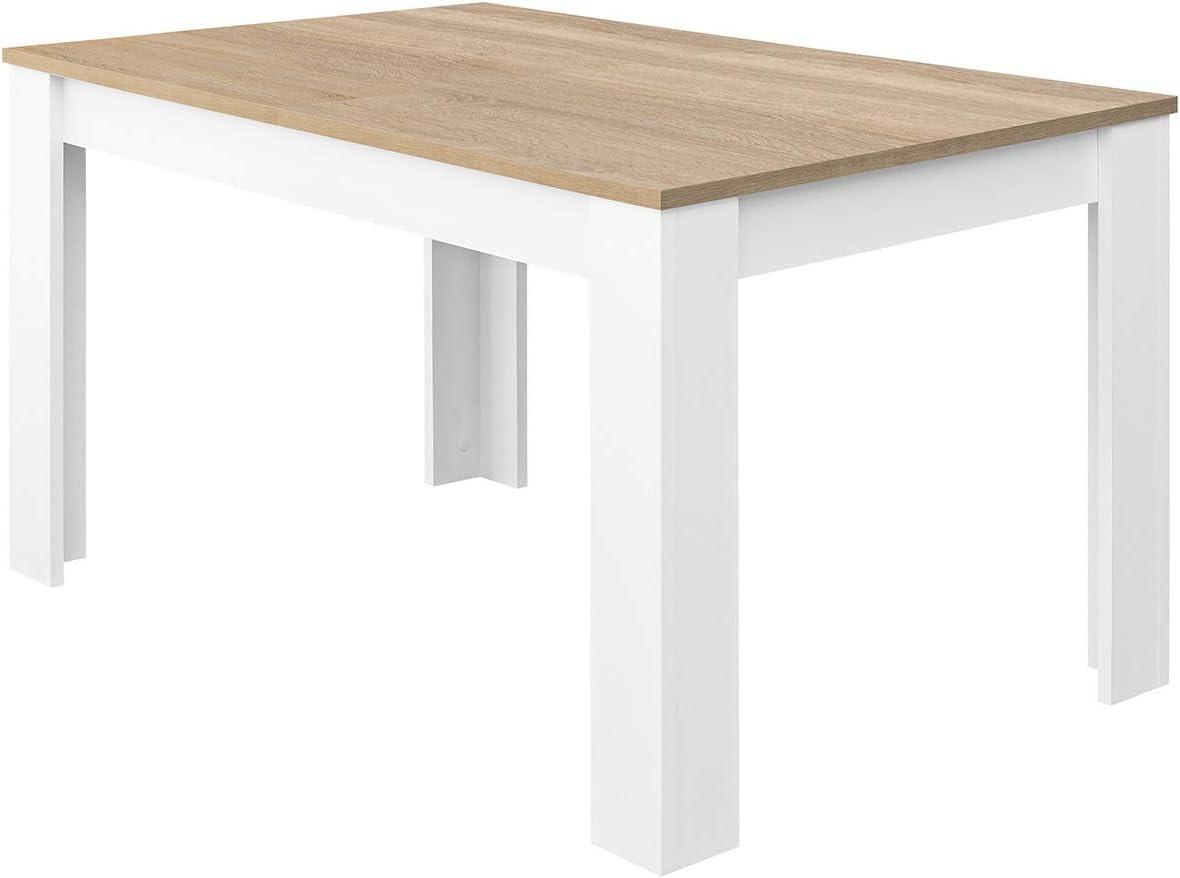 COMIFORT Mesa de Comedor- Mueble Extensible, de Estilo Moderno ...