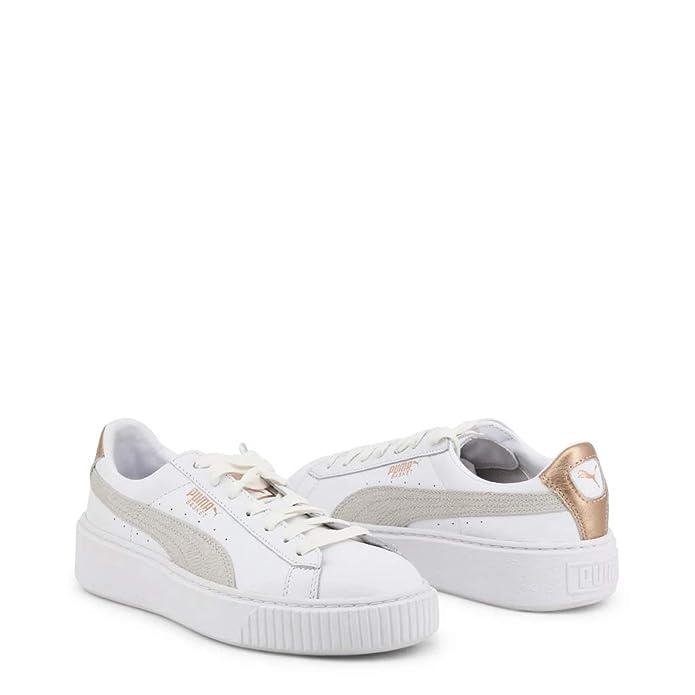 Puma Basket Platform EURPHORIA RG Scarpe Moda Sneakers per Donna Pelle