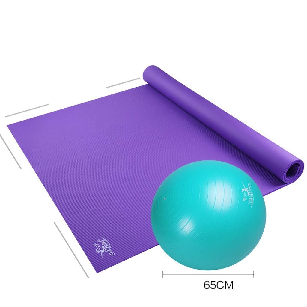ASJHK ヨガマット大ダブルヨガマット肥厚ロングダンス練習滑り止めフィットネスホームマット ヨガマット (色 : A, サイズ さいず : 15mm) B07PG45XCT 15mm|B B 15mm