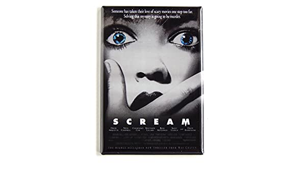 Amazon.com: Scream Movie Poster Fridge Magnet (2 x 3 inches): Posters & Prints