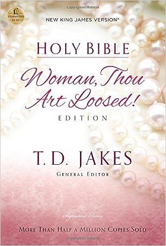 Woman thou art loosed nkjv amazon t d jakes 0020049002155 woman thou art loosed nkjv amazon t d jakes 0020049002155 books fandeluxe Choice Image