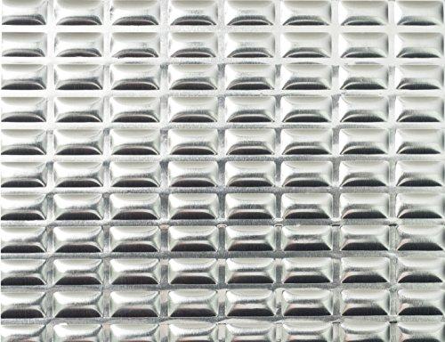 Sound Deadening mat 80mil 7.5 sqft - Sound Deadener Mat - Car Sound Dampening material - Sound dampener - Sound deadening material sound Insulation - Car Sound deadening Bulk Kit Trunk Hood Door Mats by Siless (Image #4)