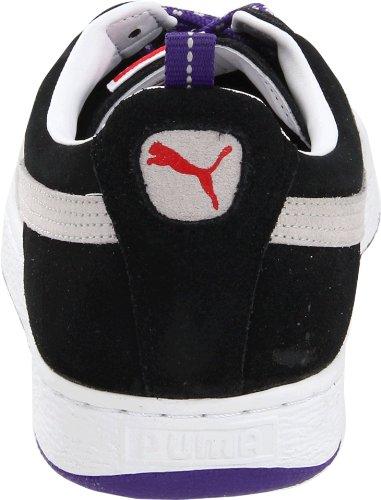 Puma Scamosciata Classic Eco Trail Fashion Sneaker Nero / Grigio Viola / Viola Squadra
