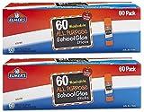 Elmers All Purpose School Glue Sticks, Washable, 0.24-ounce sticks, 120 Count