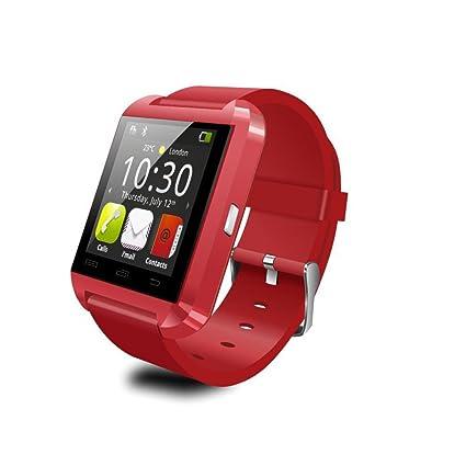 Amazon.com: Reloj de pulsera inteligente LeexGroup U8 con ...