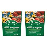 Scotts All Purpose Flower and Vegetable Continuous Release Plant Food 3 Pounds Per Bag (2 Pack)