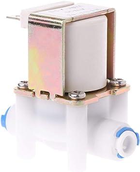 Válvula de entrada de agua eléctrica de plástico para interruptor de flujo de ionizador, purificador de agua: Amazon.es: Bricolaje y herramientas