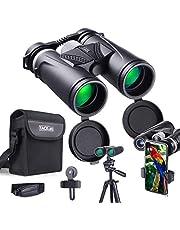 Binocolo Professionale, TACKLIFE MBC02 Binocolo 10 x 42, Prisma BAK-4 con FMC Verde 97M/1000M, Adatto Viaggi All'aperto, Bird Watching, Adattatore per Smartphone