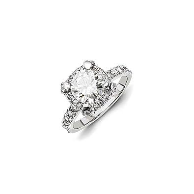 f5dfec8674300d Jewelry Best Seller 14ky White Gold Diamond/Moissanite Engagement ...