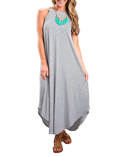 knit tank maxi dress - 9