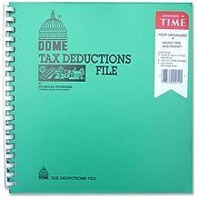DOM912 - Tax Deduction File, w/ Pockets, 11x9-3/4