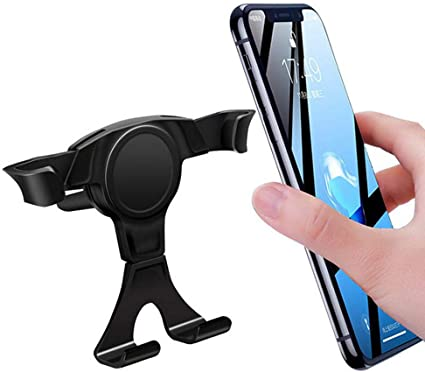 Hoonee - Soporte para teléfono móvil para coche para la ventilación del coche y soporte de ventosa 3 en 1 para smartphone: Amazon.es: Coche y moto