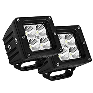 Led Cube Lights, Eyourlife 3.2 Inch LED 20W Fog Lights Led Off Roading Light Pods Daytime Driving Lights Night Driving Lights Spot Lights Super Bright With Mounting Bracket 2PC