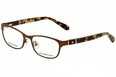 285d5a8350 Amazon.com  Kate Spade Jayla Eyeglasses-05BZ Brown -52mm  Shoes