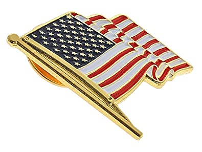 Wonderful Antek ONE DAY SALE American Flag Pin For Suit Made In USA Lapel Pin (10