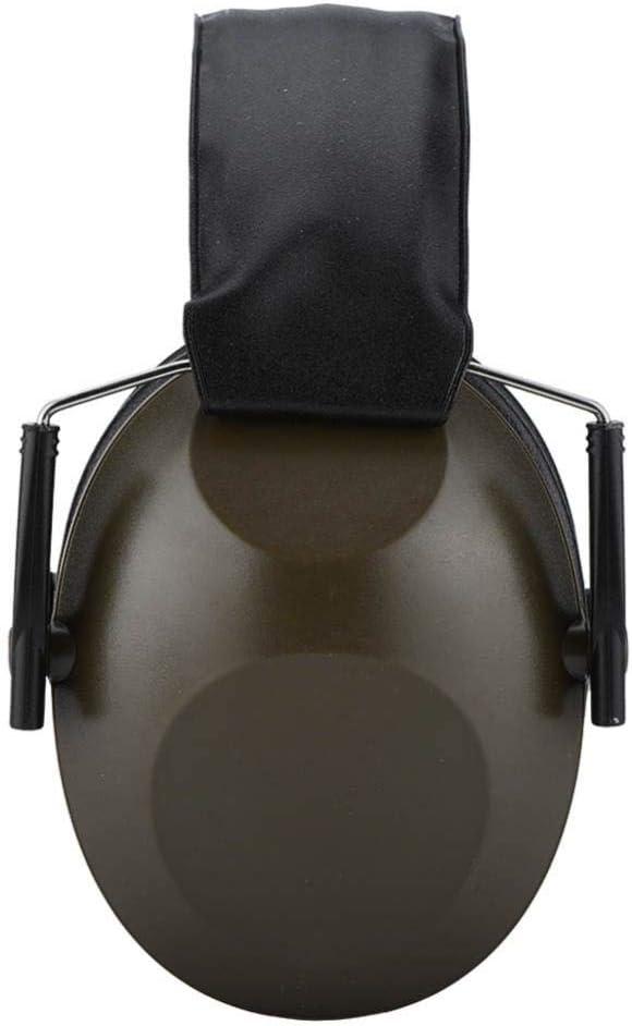 tir Noir prot/ège-Oreilles insonoris/és Anti-Bruit//Casque de Protection de lou/ïe Pliable pour DIYm travaillant Jardinage Tangxi Prot/ège-Oreilles de tir Professionnels