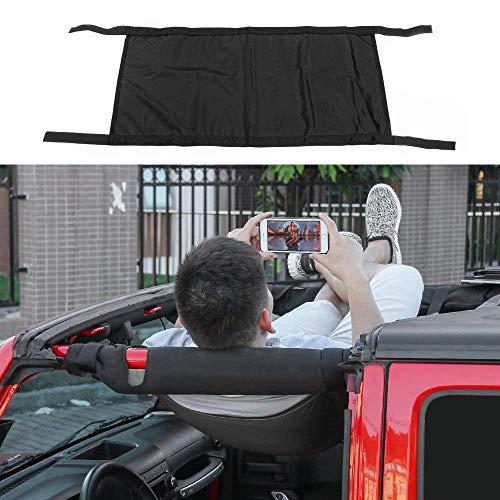 - RT-TCZ New Style Black Car Roof hammock Car Bed Rest For 1997-2019 Jeep Wrangler TJ,JK,JKU,JL,JLU