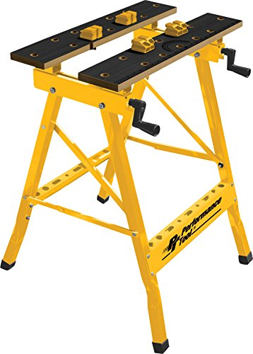 Portable Workbench - Performance Tool W54025 Portable Multipurpose Workbench and Vise (200 lbs Capacity)