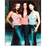 Charmed Rose McGowan, Holly Marie Combs, Alyssa Milano Serious in Jeans 8 x 10 Inch Photo