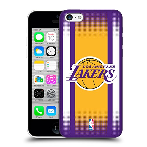 Official NBA Halftone Gradient Los Angeles Lakers Hard Back Case for Apple iPhone 5c