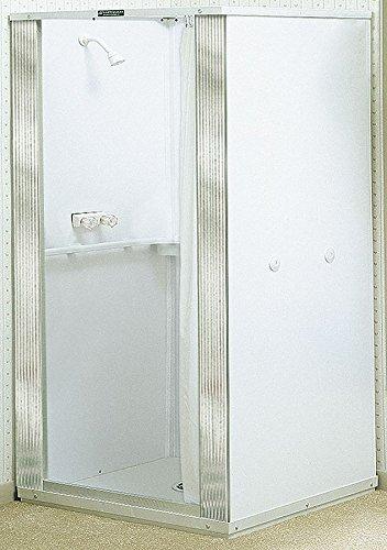 Shower Stall, Free Standing, MNPT, 74 3/4 H