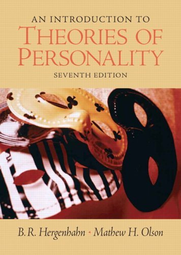 An Introduction to Theories of Personality: 7th (Seventh) Edition