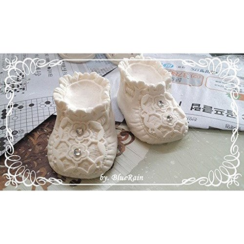 baby shoes mold 9890 , fondant cake molds chocolate soap candle moulds