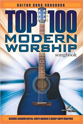 Amazon.com: Top 100 Modern Worship Guitar Songbook (9781598021325 ...