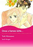 img - for Once A Ferrara Wife... (Harlequin comics) book / textbook / text book