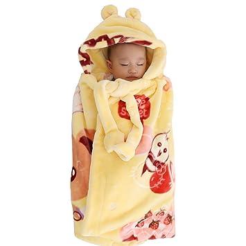Envolver Recién Nacido Sábana Bajera Saco De Dormir Regalo Algodón Cómoda Tela Suave para Cuidar El