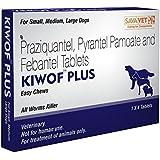 KIWOF PLUS (DOG DEWORMER- CHEWABLE TABLETS)