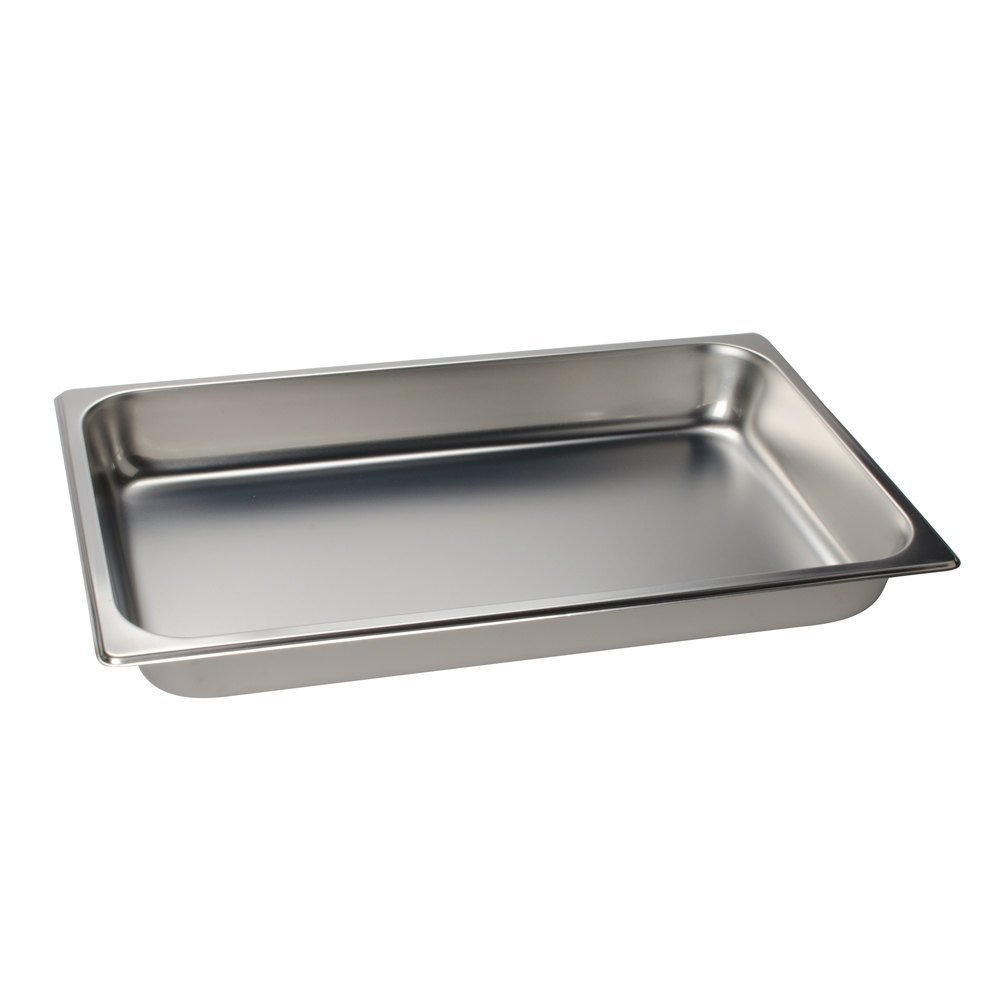 2 1/2'' Deep, Full Size Standard Weight Economy Stainless Steel Steam Table / Hotel Pan - Set of 6