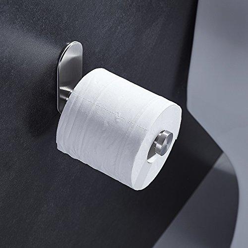 Amazon.com: Kes Self Adhesive Toilet Paper Towel Holder Tissue Paper ...