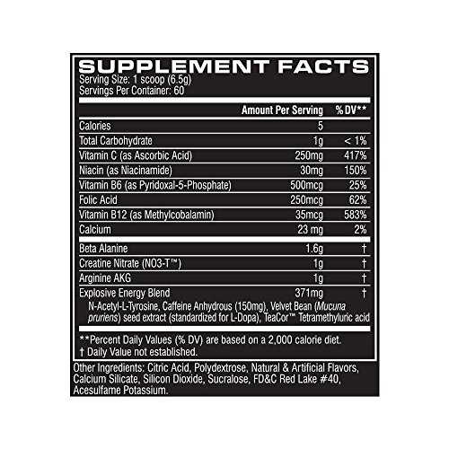 Cellucor C4 Pre-Workout, Fruit Punch, 13.75 oz