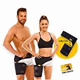 Compression Wrap for Groin Hip, Thigh Quad Hamstring Joints | Sciatica Nerve Pain Relief Strap by MOOND
