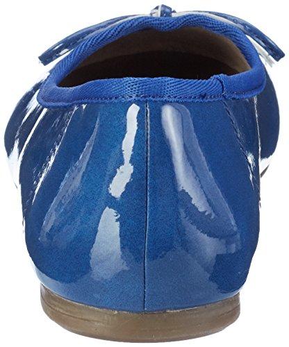 Tamaris 22118, Bailarinas para Mujer, Azul (Royal Patent 986), 37 EU