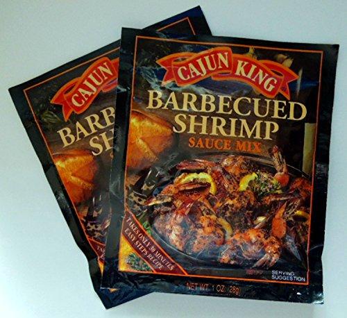 Cajun King Barbecued Shrimp - 2 of 1 oz pkgs