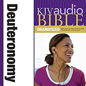 KJV Audio Bible: Deuteronomy (Dramatized) Audiobook