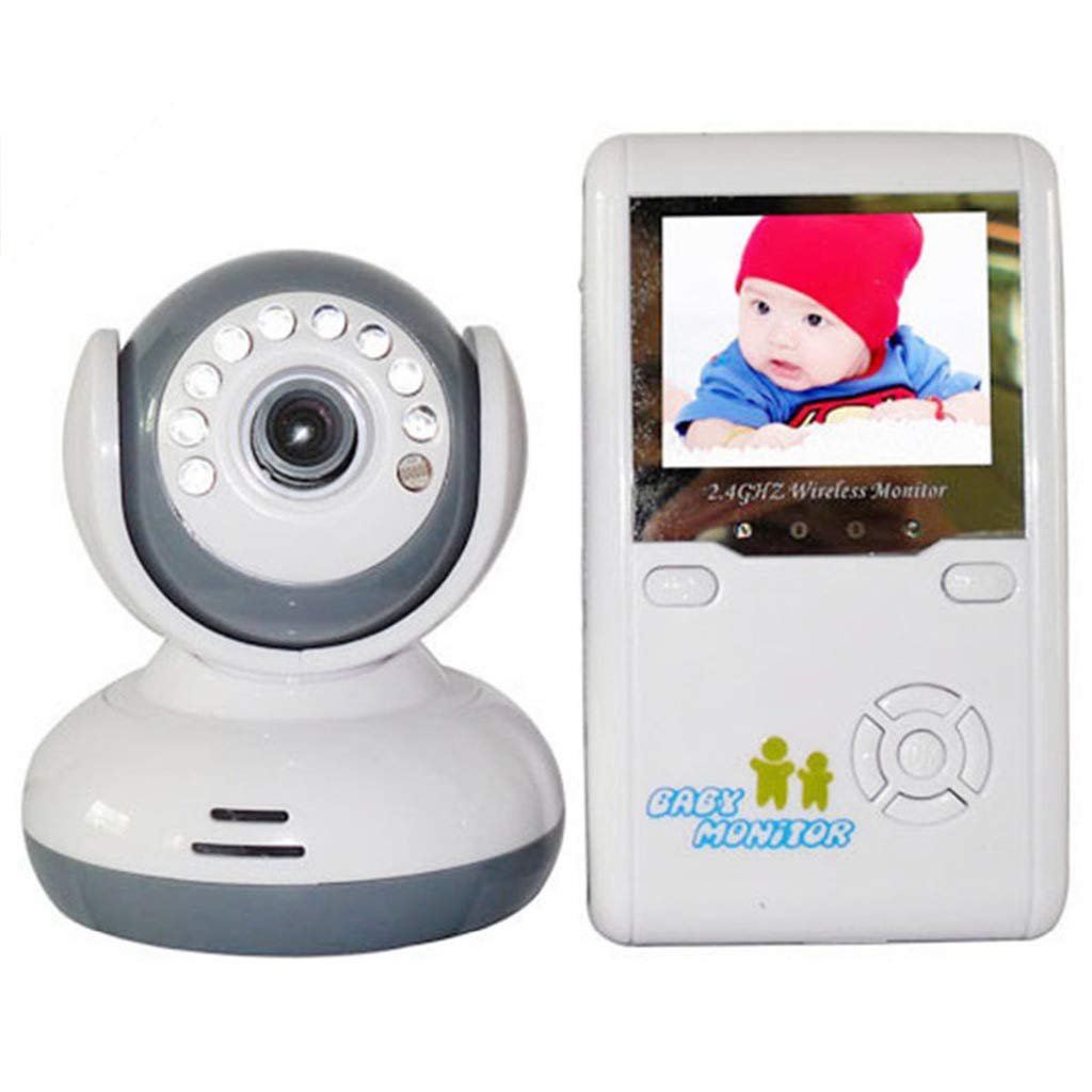 【超新作】 新しい2.4 gワイヤレスカメラカラーlcdオーディオベビーモニター付きカメラナイトビジョンbabyphoneベビーベビーシッター監視セキュリティカメラ 新しい2.4 B07M9YMLN9, 鶴岡市:598b859f --- a0267596.xsph.ru