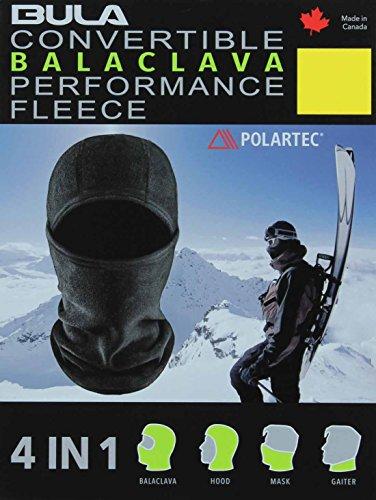 BULA Performance Fleece 4-in-1 Convertible Balaclava (Small/Medium)
